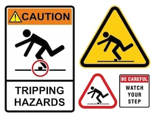 Slips and Falls on Construction Sites